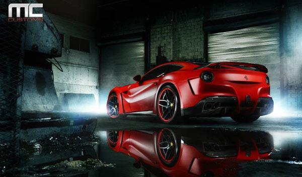 Ferrari F12 N-Largo novitec trasera