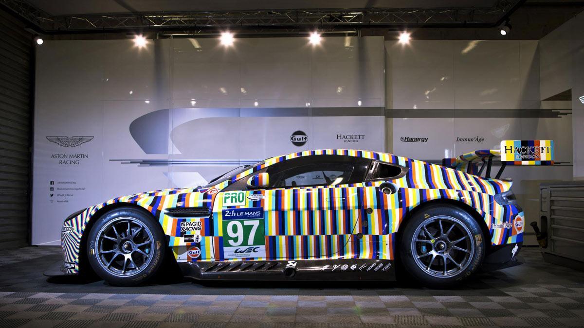 Aston Martin Le Mans multicolor