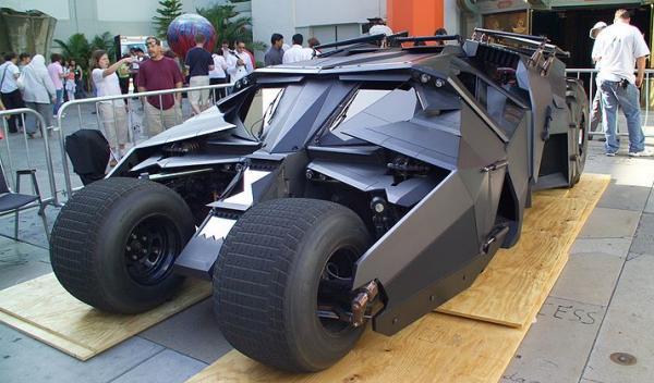A la venta una réplica del Batmóvil: por un millón de euros