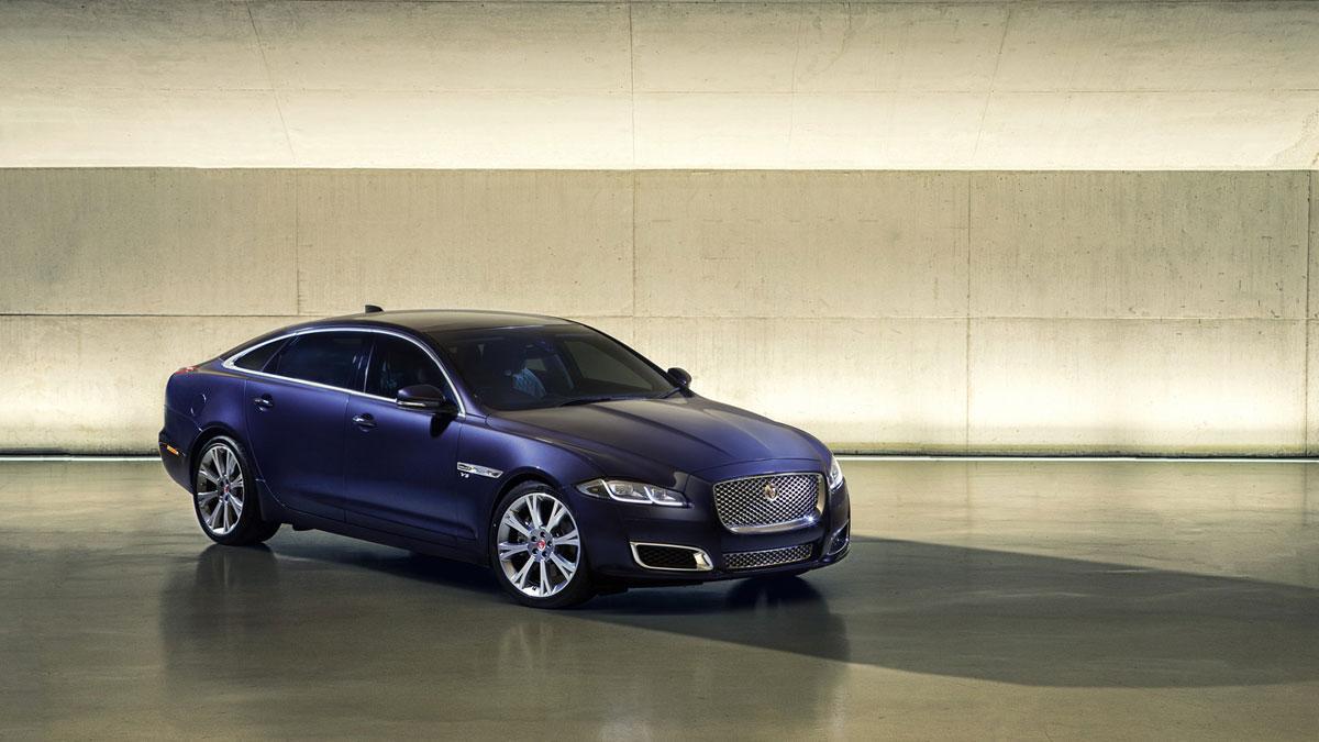 Jaguar XJ 2016 tres cuartos delanteros