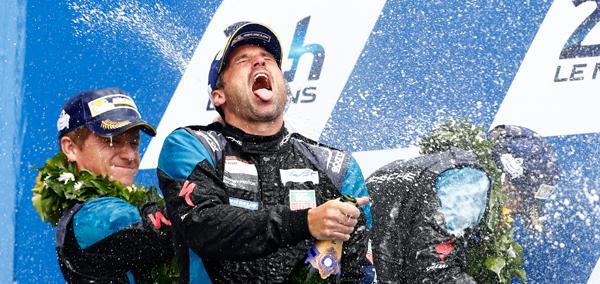 El actor Patrick Dempsey, segundo en 24 Horas de Le Mans