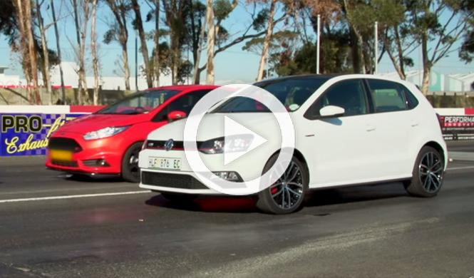 Drag Race: nuevo Polo GTI vs Ford Fiesta ST, ¿cuál ganará?
