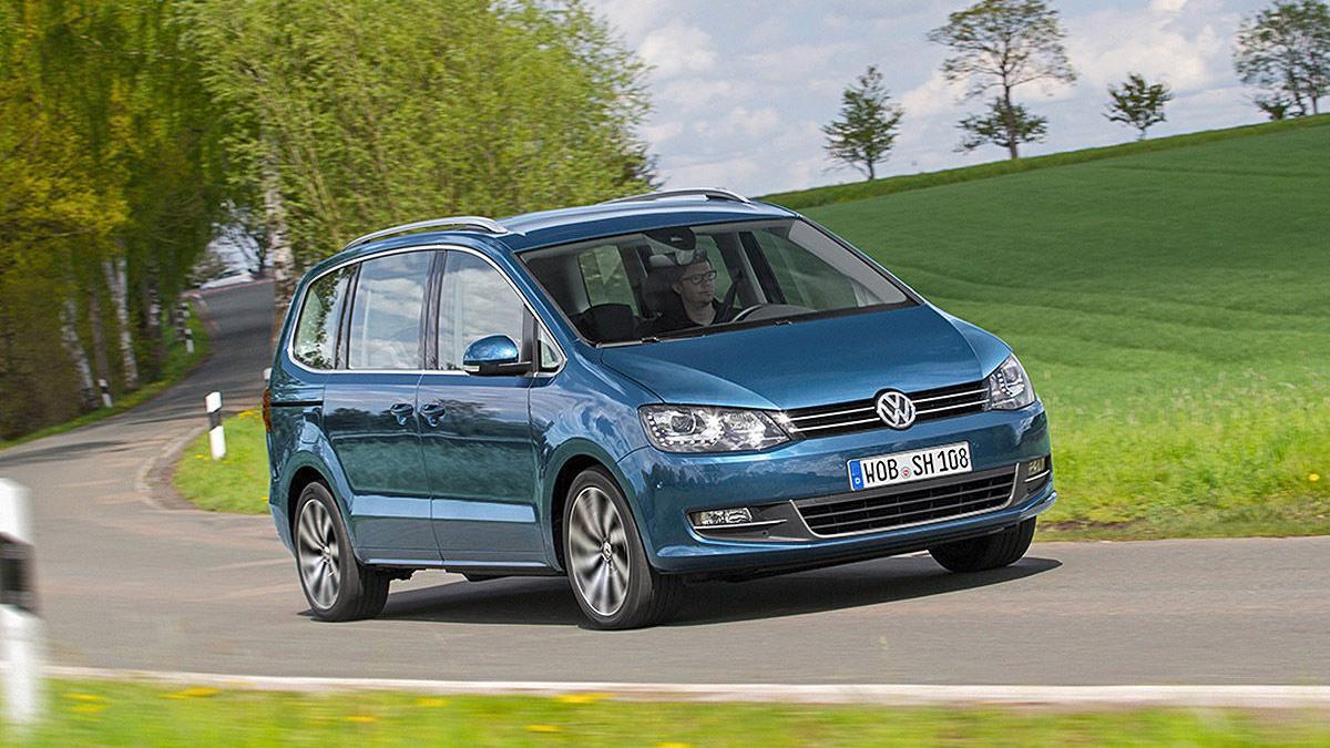 Volkswagen Sharan facelift 2015 dinámica