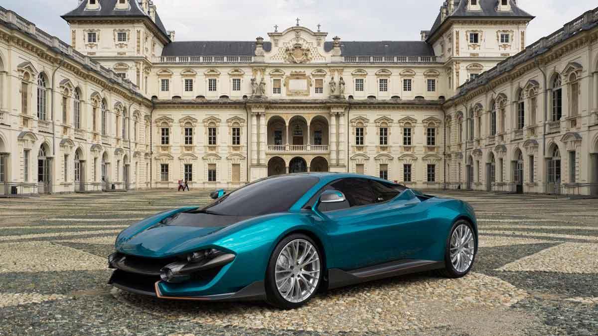 Torino Design ATS Wildtwelve Concept tres cuartos delantero
