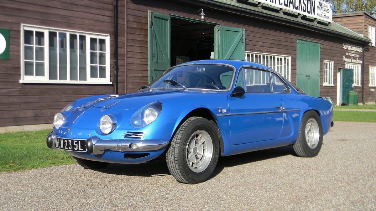 Alpine A110 delantera