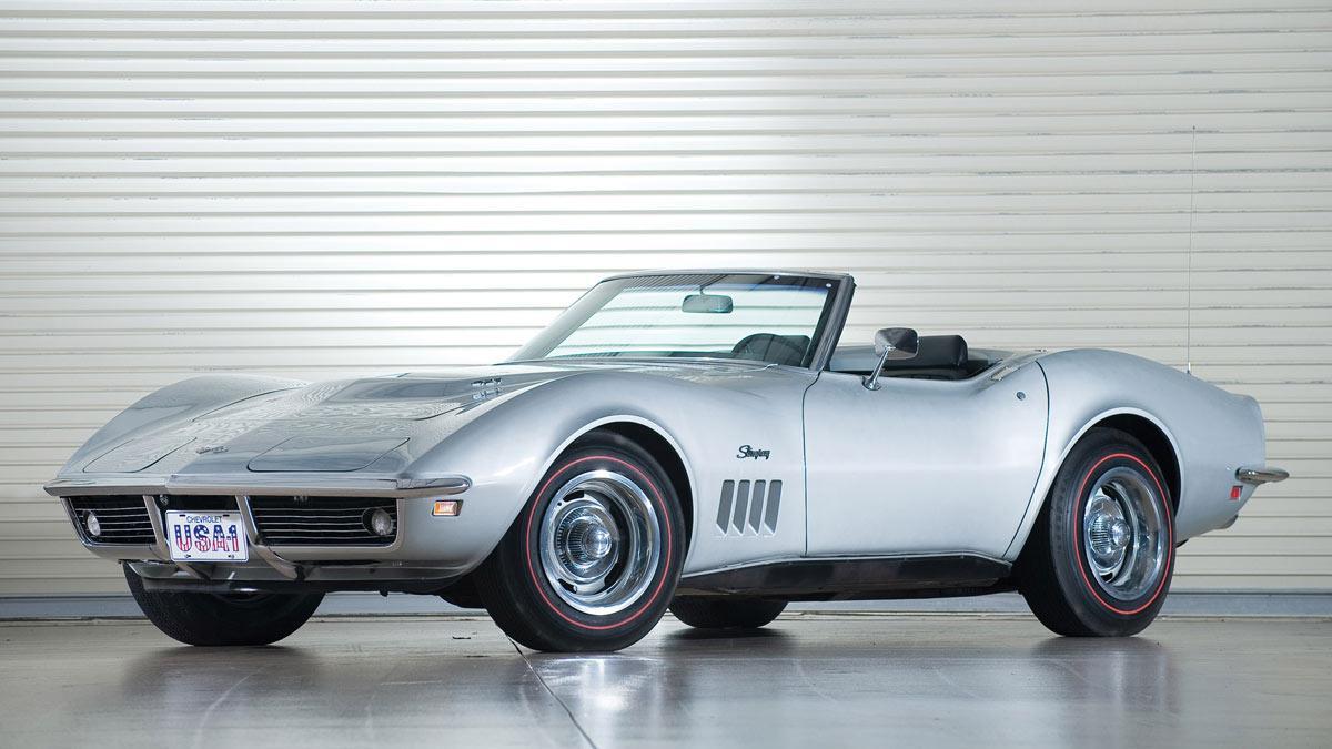 Este Corvette fue de Rambo y ahora puede ser tuyo