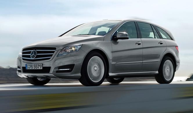 Mercedes podría lanzar un nuevo Clase R