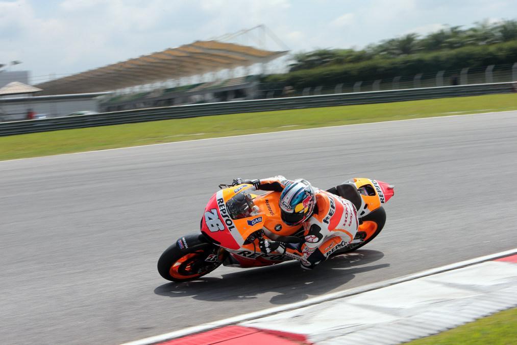 Marc Marquez en carrera
