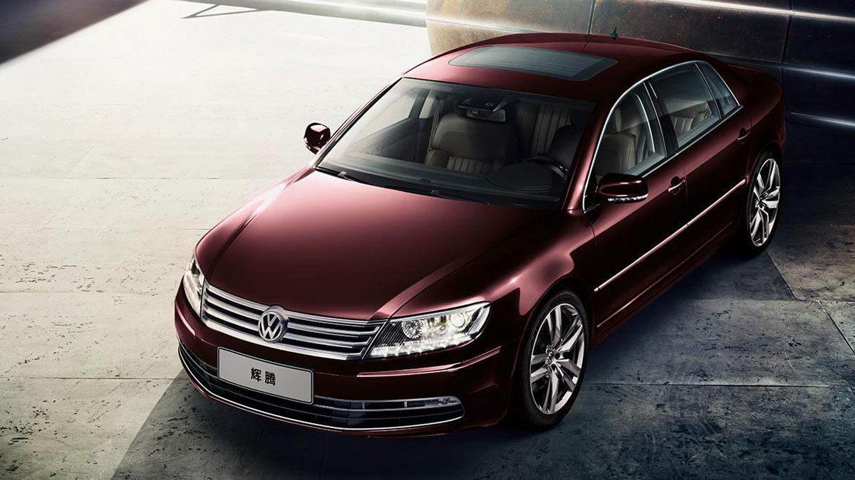 Habrá VW Phaeton híbrido enchufable