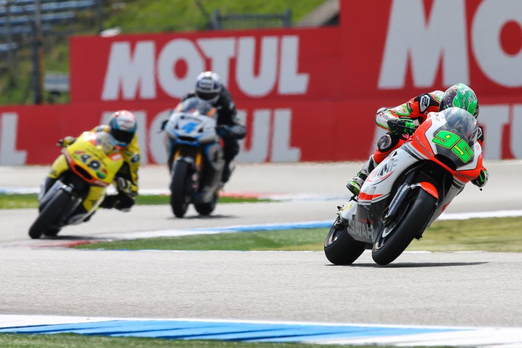 Parrilla de salida Moto2 GP de Holanda 2015