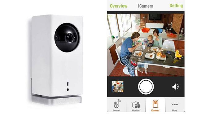 La cámara que vigila tu casa desde el móvil