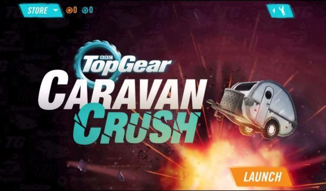 Aquí destroza Top Gear caravanas
