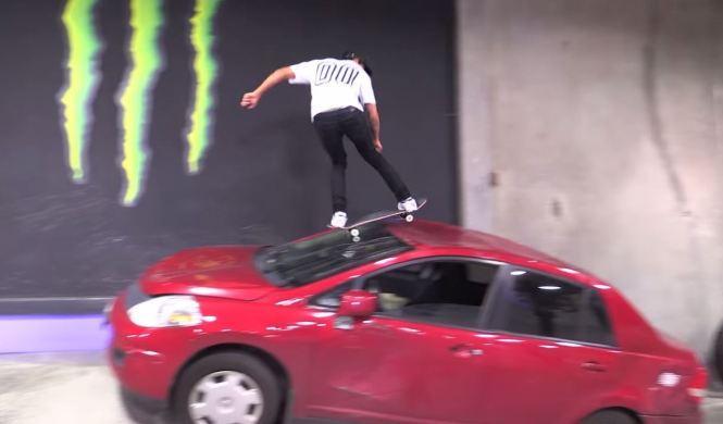 La forma más 'divertida' de rayar un coche