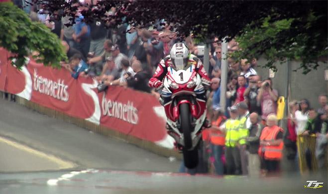 Vídeo: El TT de la Isla de Man 2015 en slow motion