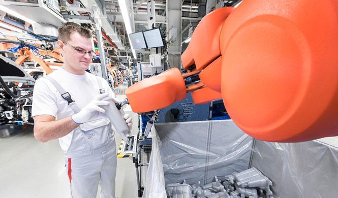 Un trabajador de VW muere en un accidente con un robot