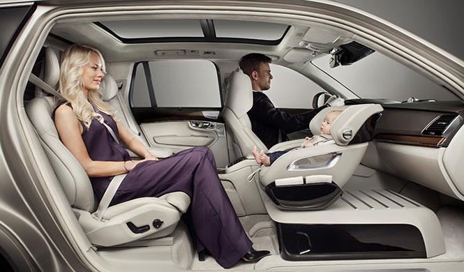 Así es la silla infantil del futuro: lujo y seguridad