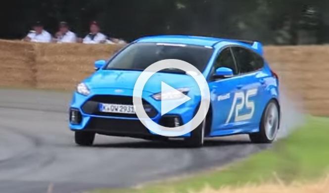 Así de 'bruto' suena el nuevo Ford Focus RS
