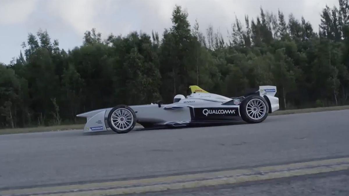 Coche Fórmula E de Qualcomm