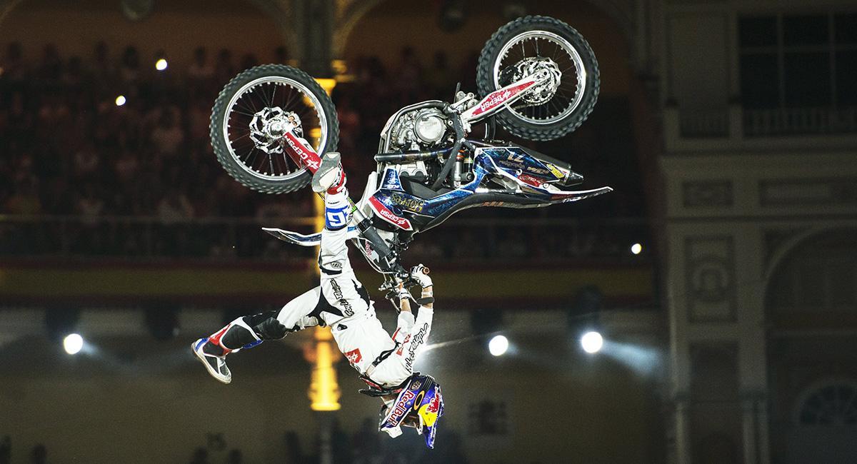 Así se prepara el Red Bull X-Fighters de Las Ventas
