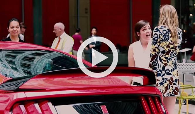 Lo que hace la gente ante el rugido del Ford Mustang GT350R