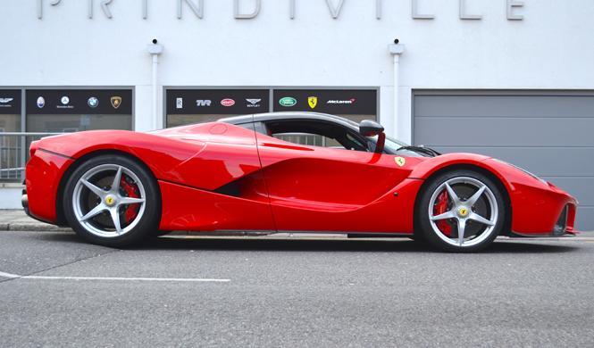 Ferrari LaFerrari de ocasión: por 3,3 kilos es tuyo