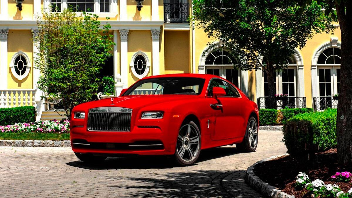 Rolls-Royce Wraith St. James Edition delantera