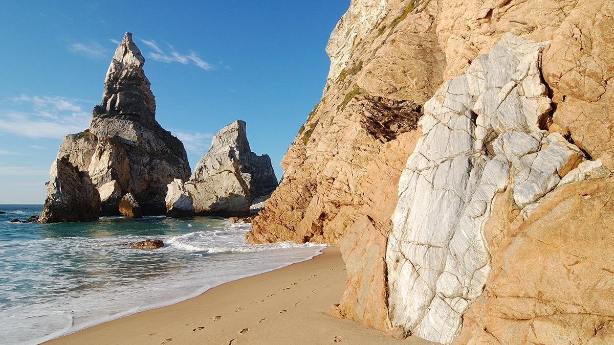 Praia de Ursa en Portugal
