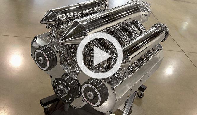 Un motor Wankel artesanal con 12 rotores y ¡1.400 CV!