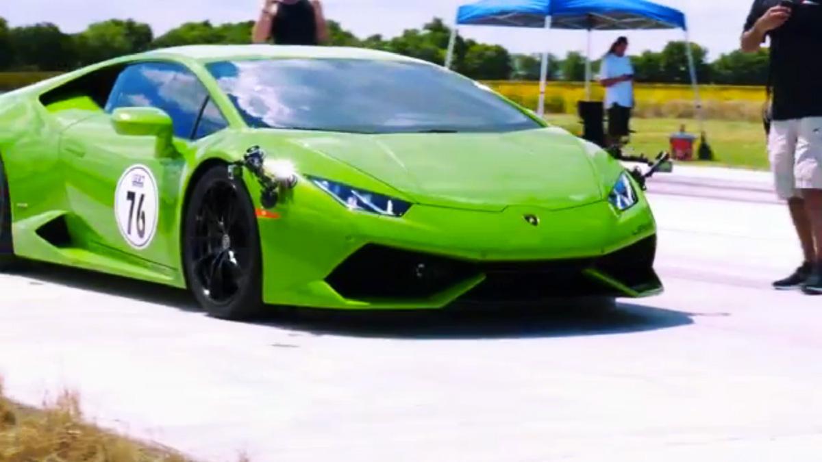 Así se las gasta el primer Lamborghini Huracán 'twin-turbo'