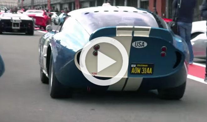 Este Shelby Daytona Coupe enamorará a tus oídos