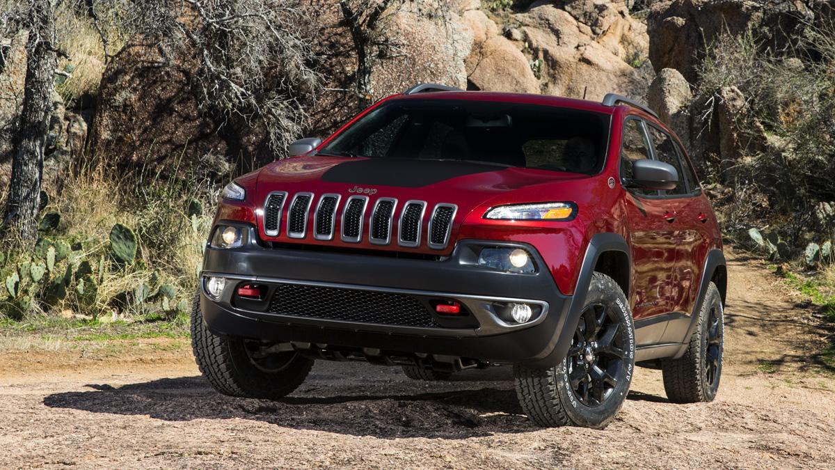 Jeep Cherokee 2017: ¡cazado por primera vez!