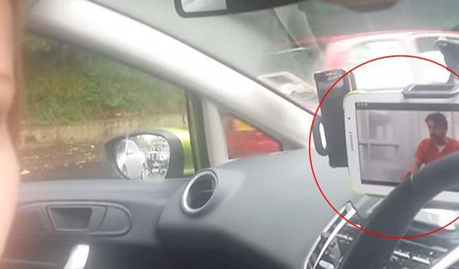Cazada una mujer que veía 'Masterchef' mientras conducía