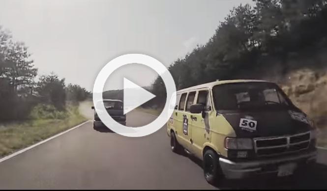 La carrera de furgonetas más loca que jamás hayas visto