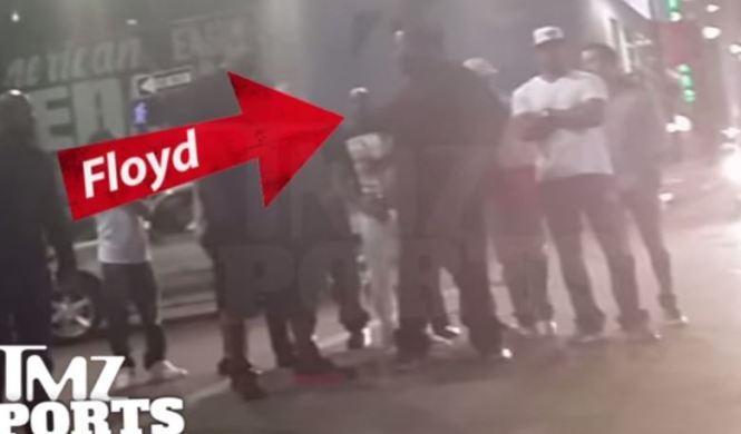 Floyd Mayweather envuelto en un accidente de tráfico