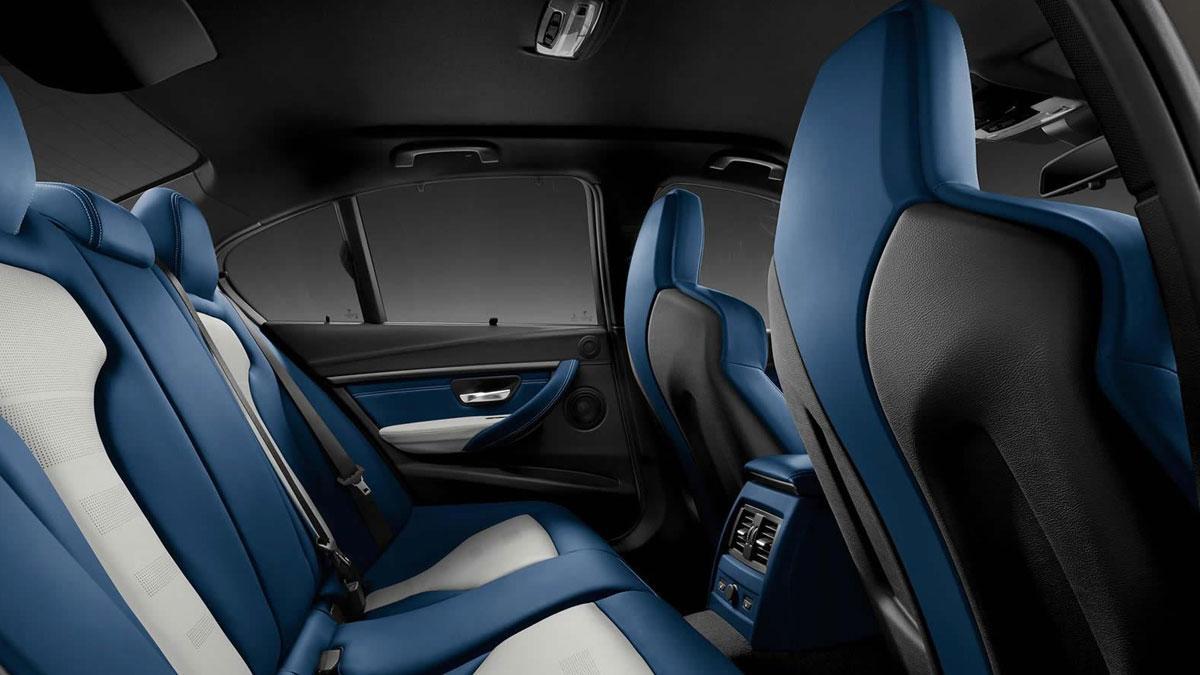 BMW M3 Individual interior