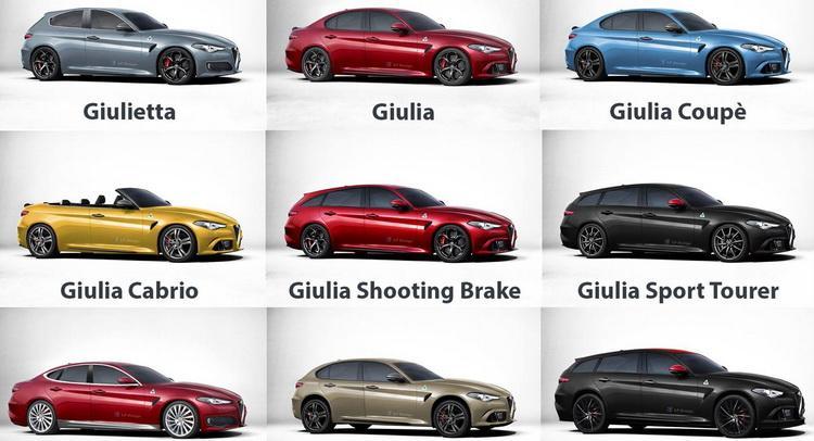 Así de alucinante puede ser la gama de Alfa Romeo