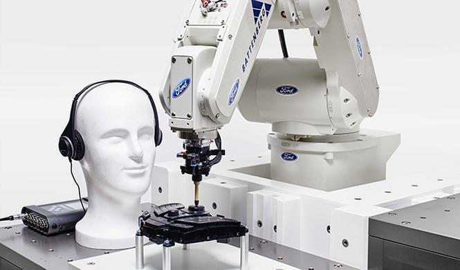 El robot con sensibilidad al tacto que prueba coches