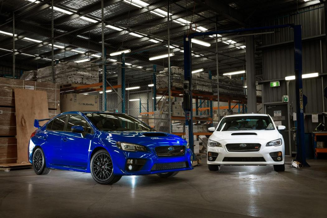 ¿Por qué odiamos a los australianos? Subaru WRX STI NR4