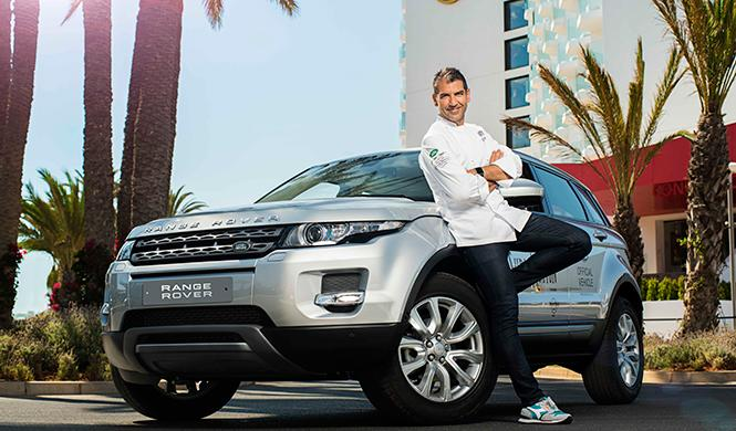 Paco Roncero y Land Rover organizan la cena más exclusiva