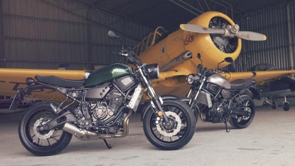 Yamaha XSR700: retro vintage y filosofía Faster Sons