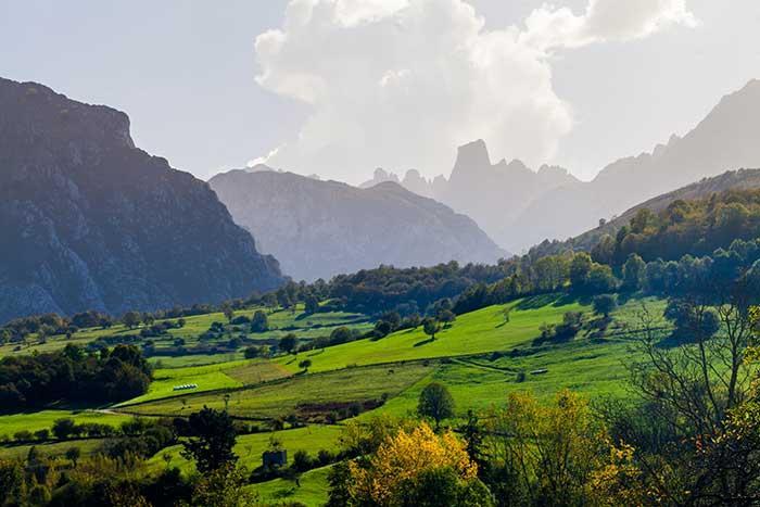 Picos de Europa, en Asturias.