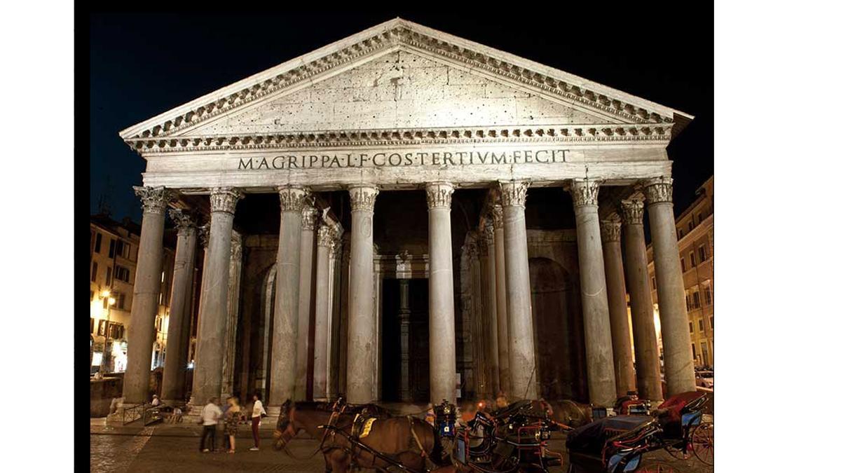 Roma: El Panteón de Agripa