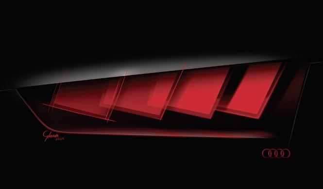 Las luces del futuro de Audi, en el Salón de Frankfurt 2015
