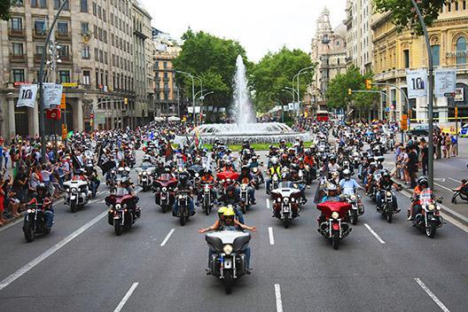 España, líder en crecimiento del mercado de motos