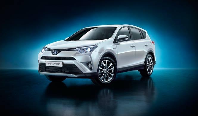 Pillado el Toyota Rav4 2016