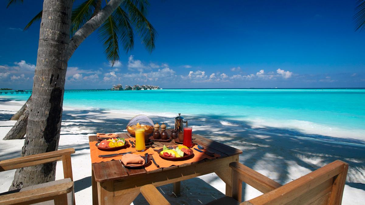 mejores hoteles del mundo Gili Lankanfushi Maldives playa