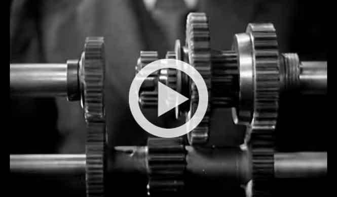 Vídeo de cómo funciona la transmisión, ¡de los años 30!
