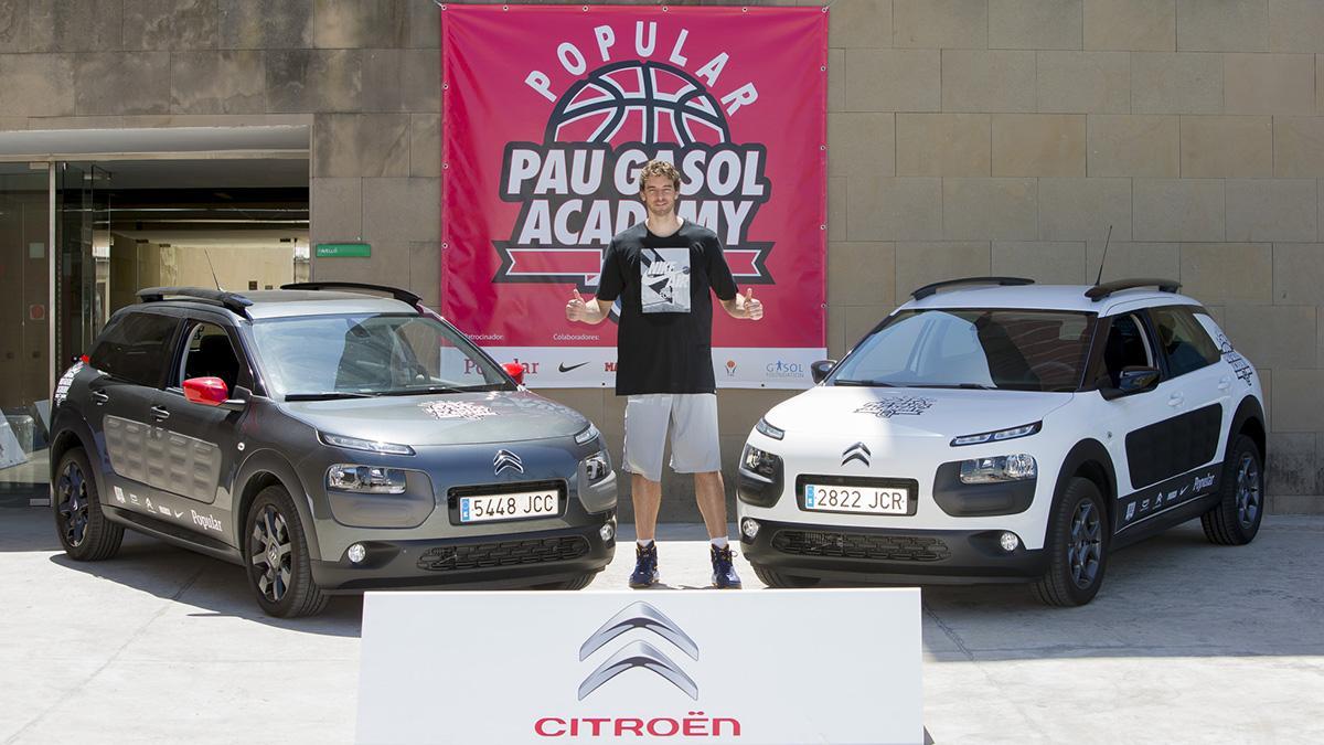 Citroën, coche oficial de la III Pau Gasol Academy
