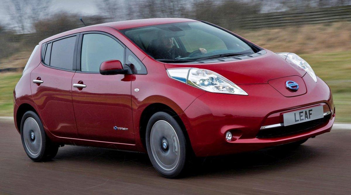 Nissan Leaf delantera