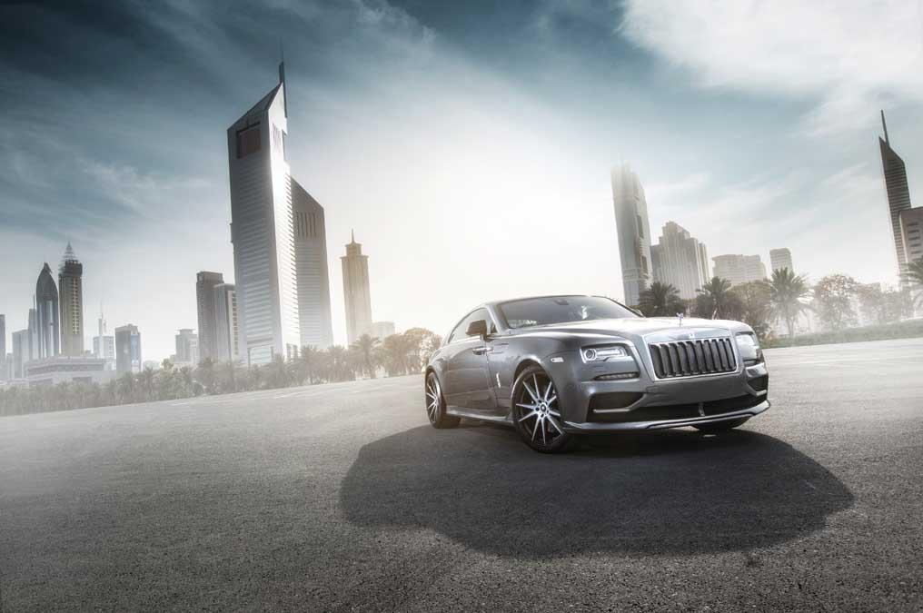 El Rolls-Royce Wraith de Ares Design